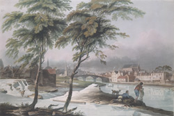 View of the River and Abbey at Paisley, Renfrewshire